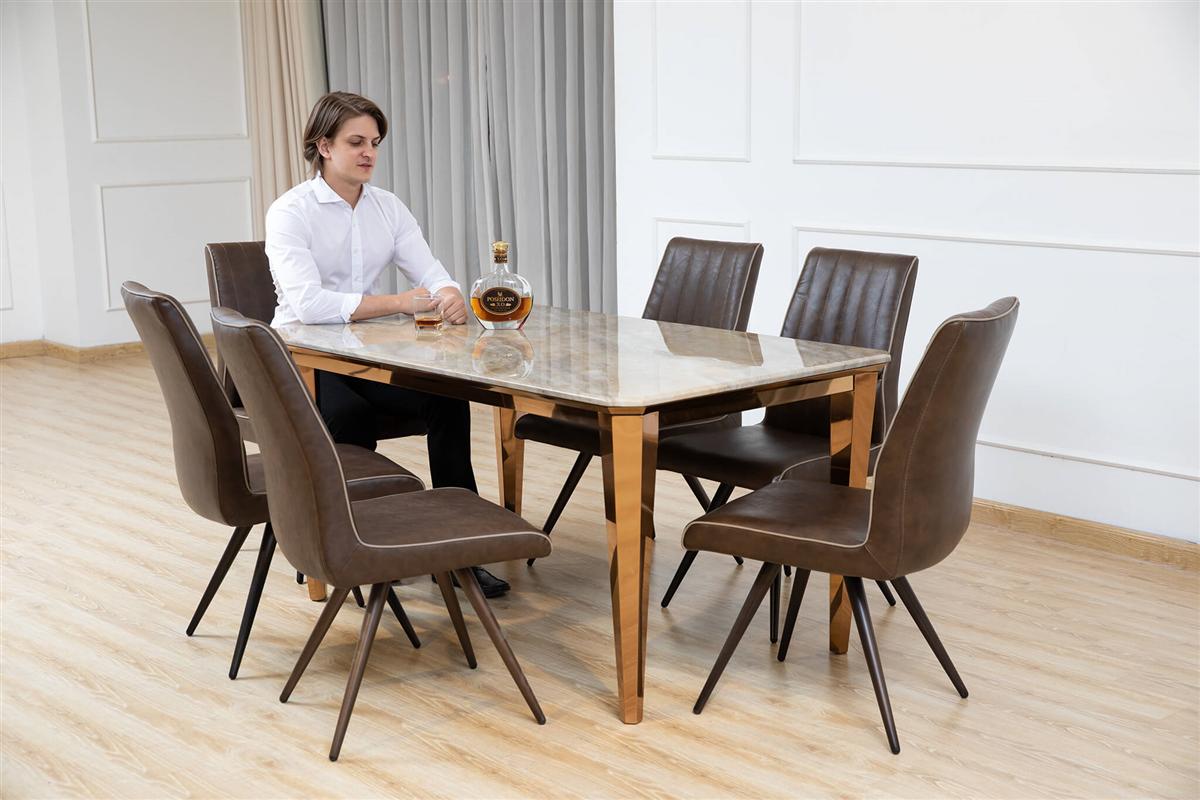 Bộ bàn ghế ăn mã T1608F